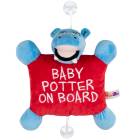 Mascot baby on board sign