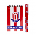 Stoke City Notepad & Pen