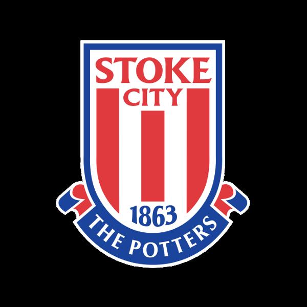 Stoke City Stamped Cufflinks
