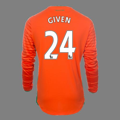 2016-17 Junior Away GK Shirt - Given