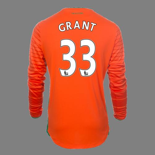 2016-17 Junior Away GK Shirt - Grant