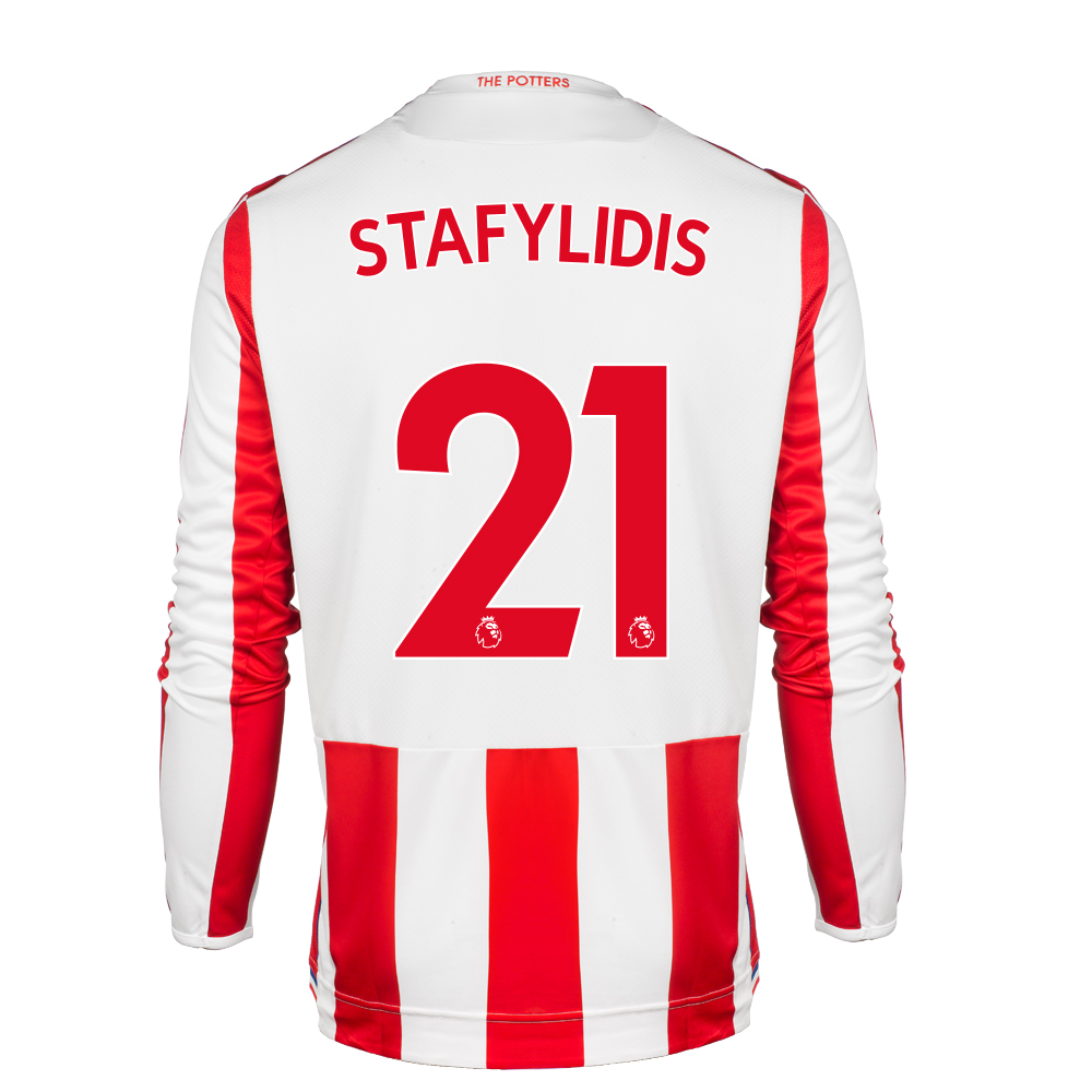 2017/18 Adult Home LS Shirt - Stafylidis