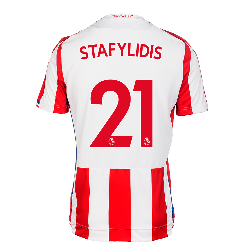 2017/18 Junior Home SS Shirt - Stafylidis
