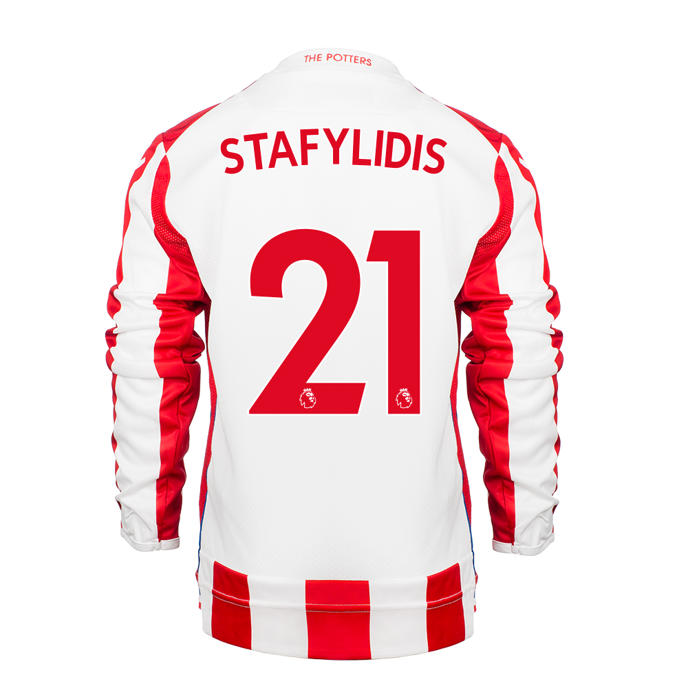 2017/18 Junior Home LS Shirt - Stafylidis