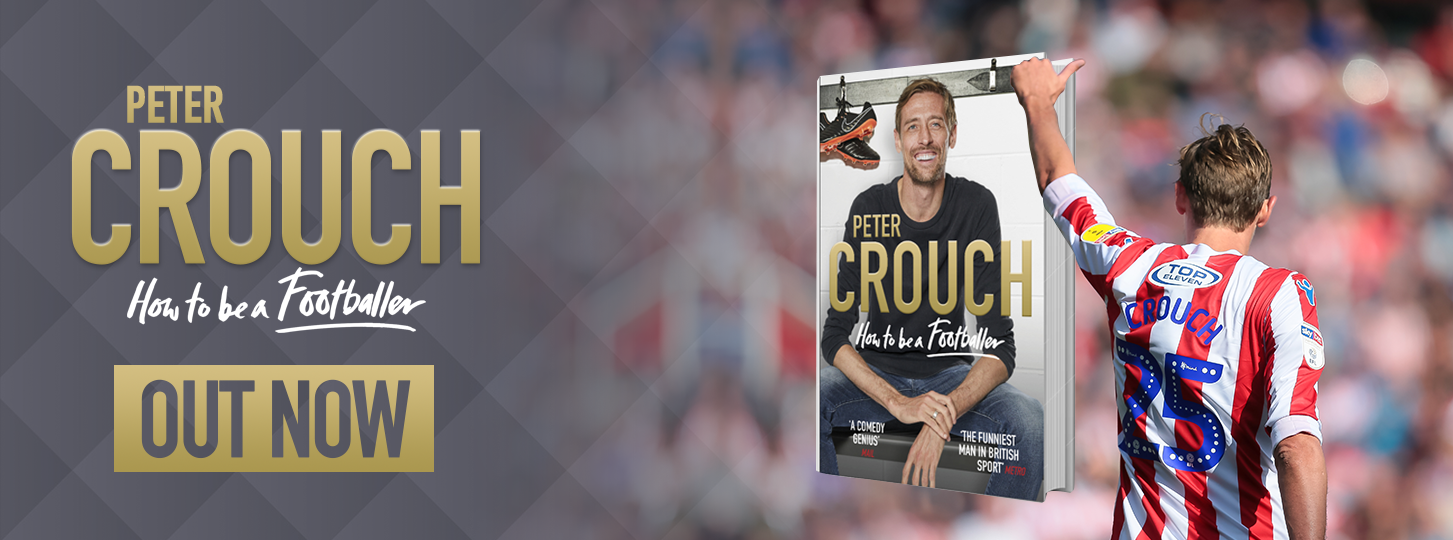 Peter Crouch Book now on sale